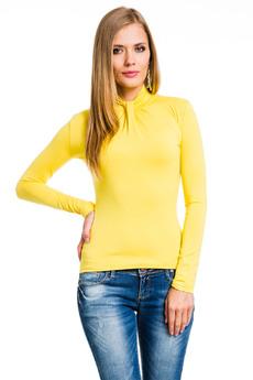 Желтая водолазка Mondigo