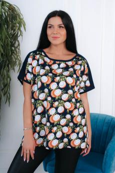 Хлопковая футболка с кокосами Натали