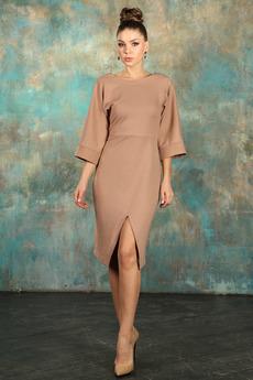 Платье с разрезом впереди Mondigo