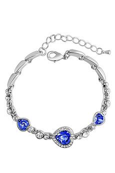 Браслет с синими камнями Kokette