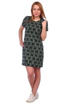 Модное зеленое платье ElenaTex